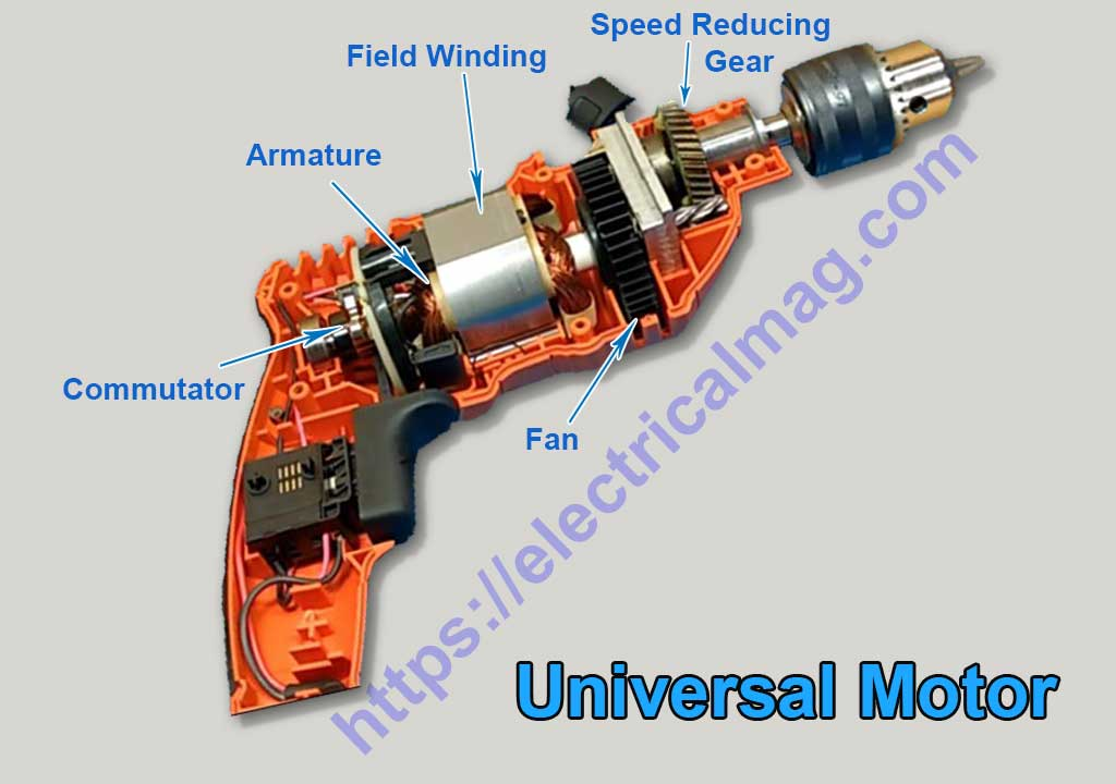 universal motor parts