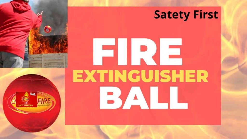 safety ball Fire Extinguisher Ball