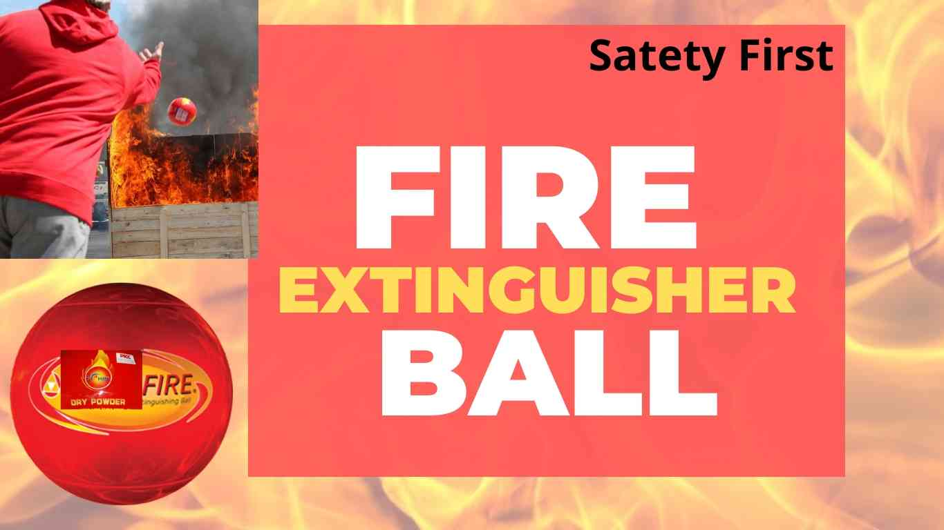automatic Fire Extinguisher Ball to extinguish fire