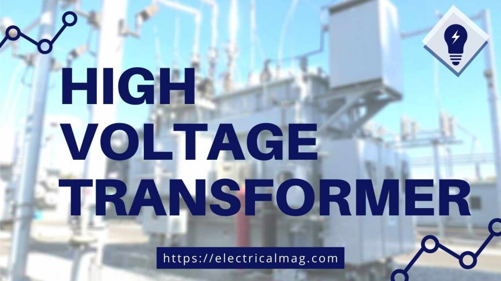 applications of high voltage transformer