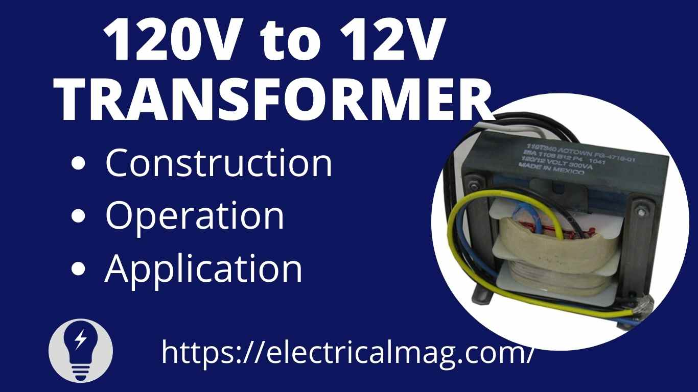 120V to 12V TRANSFORMER